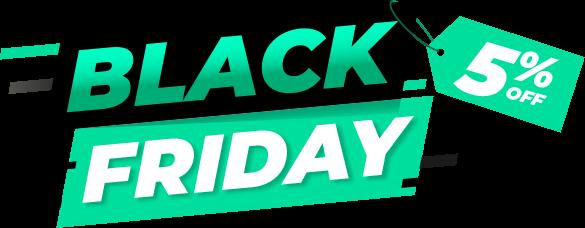 Promoção Black Friday 2020 (5% OFF)